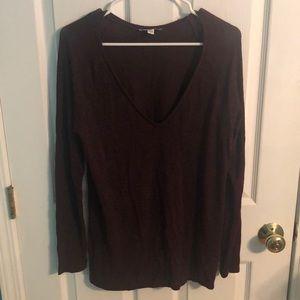 AEO maroon sweater